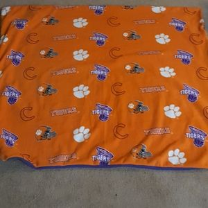 New Clemson Tigers 50x60 Fleece Blanket